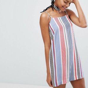 MONKI striped dress